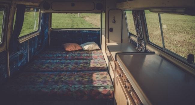 Matelas sur-mesure pour camping-car_Matelas détourné