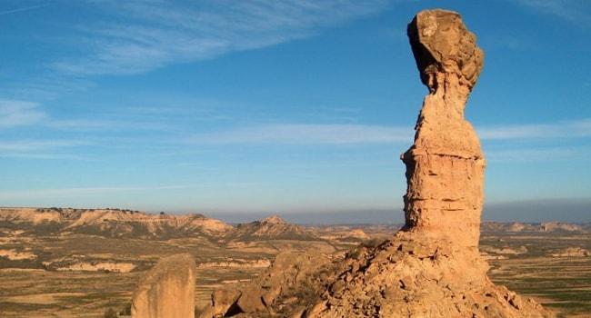 L'Aragon en camping-car_Désert de Monegros