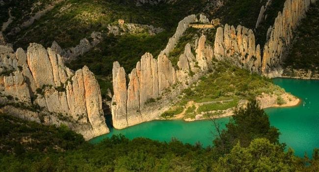 L'Aragon en camping-car_Muraille de Finestras