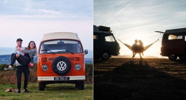 Les influenceurs du Camper Village_Mathieu-Margaux