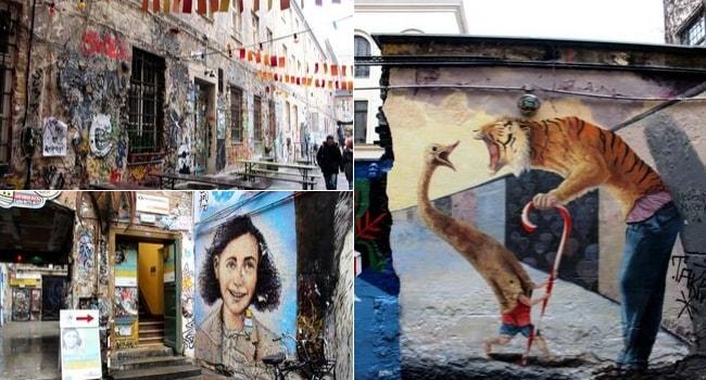 Street Art à Berlin_Quartier Mitte_Haus Schwarzenberg