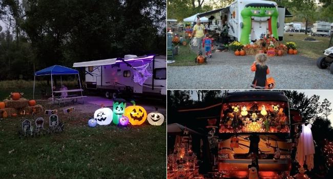 Décorer son camping-car pour Halloween