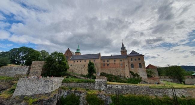 La route des châteaux hantés en camping-car_Le château d Akershus