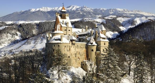 La route des châteaux hantés en camping-car_Le château de Bran