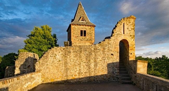 La route des châteaux hantés en camping-car_Le château de Frankenstein