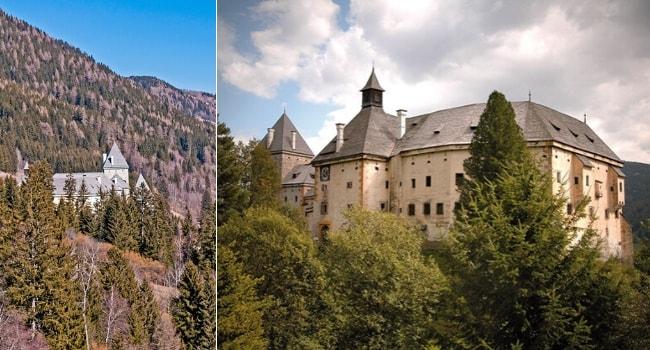 La route des châteaux hantés en camping-car_Le château de Moosham