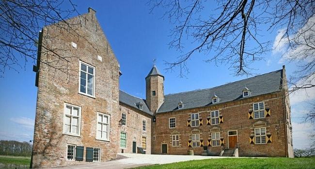 La route des châteaux hantés en camping-car_Le château de Waardenburg