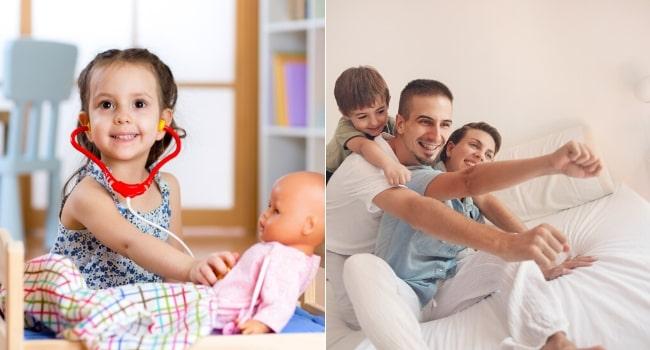 Les activités d'intérieur à faire avec les enfants