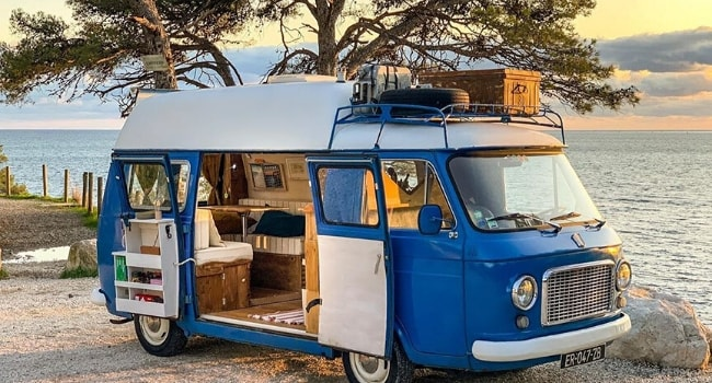 Les camping-cars vintage