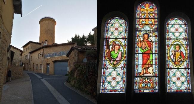 Oingt - sur la route des vins du Beaujolais