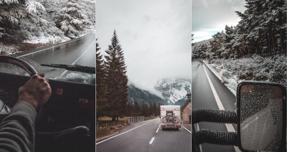 Top Équipements pour partir au ski en camping-car