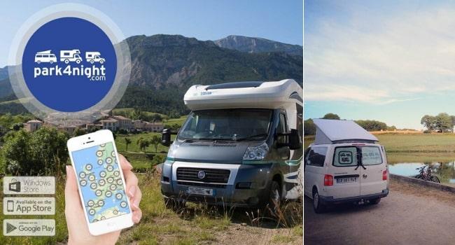 Où dormir en sécurité en camping-car_Avis Park4Night