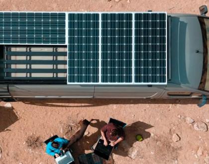 Panneau-solaire-camping-car