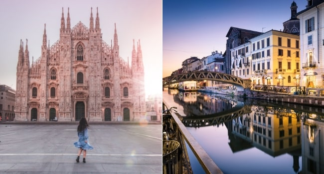 Top des destinations en janvier en camping-car - Milan