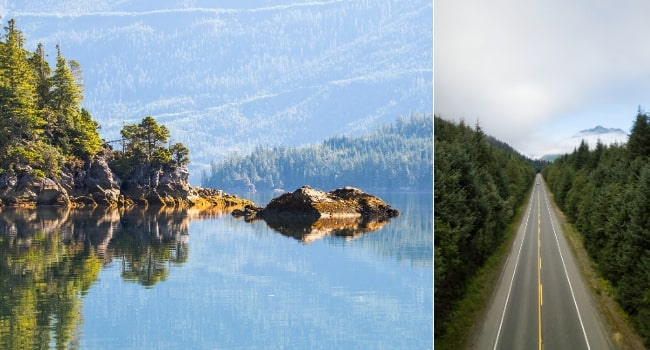 Le Canada en van vu par Des fenêtres sur le monde_Île de Vancouver