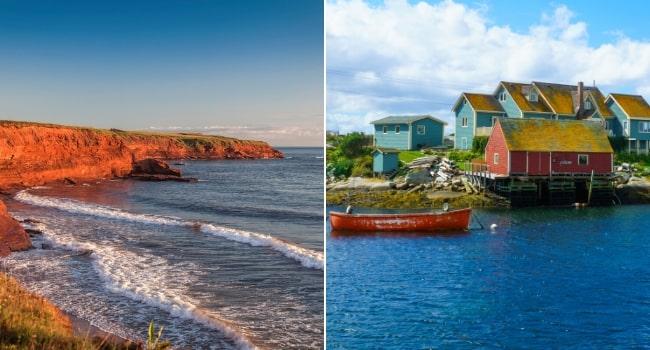 Le Canada en van vu par Des fenêtres sur le monde_Îles du Prince Édouard & Nouvelle Écosse