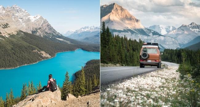 Le Canada en van vu par Des fenêtres sur le monde_Les Rocheuses