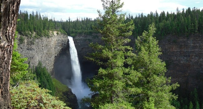 L'Ouest canadien en camping-car_Les chutes de Helmcken