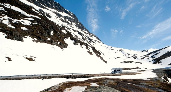 Top 5 des destinations 2019 en camping-car_Le ski
