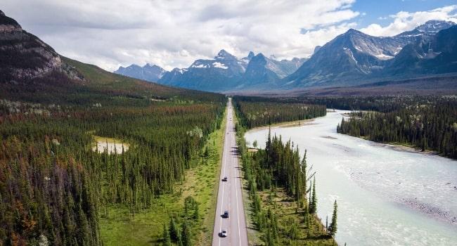 routes panoramiques alberta