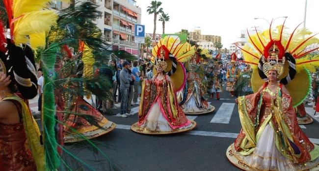 Les carnavals en camping-car_Santa Cruz de Tenerife