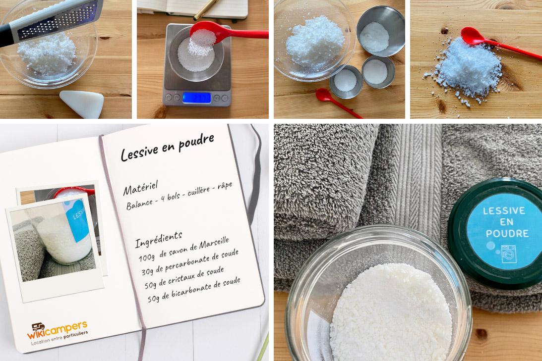 Faire soi même lessive en poudre