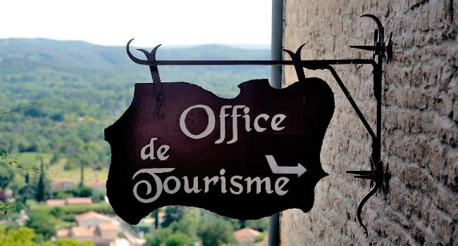 panneau office de tourisme