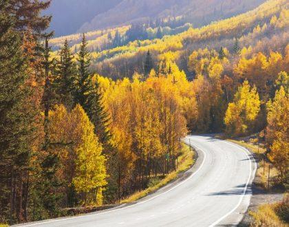 5 régions à faire en automne en camping-car