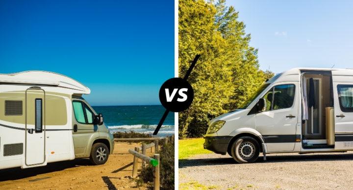 Fourgon VS camping-car : quel véhicule est le plus confortable ?