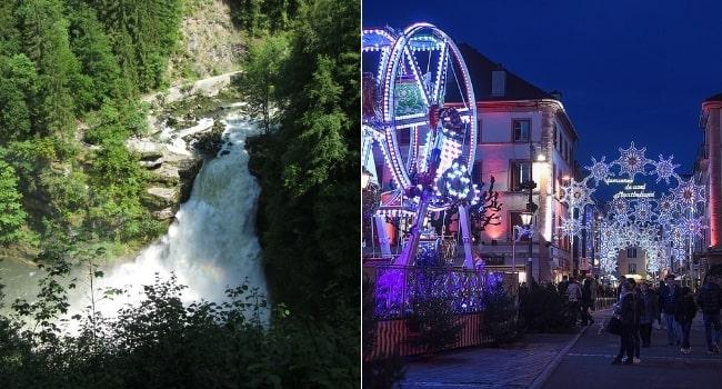 Partir-en-vacances-en-décembre-en-France_Bourgogne-France-Comte-Saut-du-Doubs-Lumières-de-Montbéliard