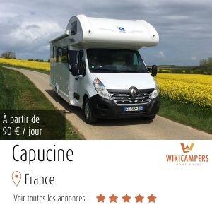 location camping-car capucine