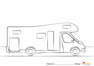 coloriage-wikicampers-camping-car-capucine