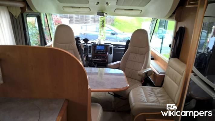 location camping car int gral donzacq 40 mercedes rapido 990 m wikicampers. Black Bedroom Furniture Sets. Home Design Ideas
