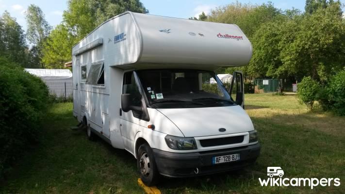 location camping car capucine morancez 28 ford challenger 172 wikicampers. Black Bedroom Furniture Sets. Home Design Ideas