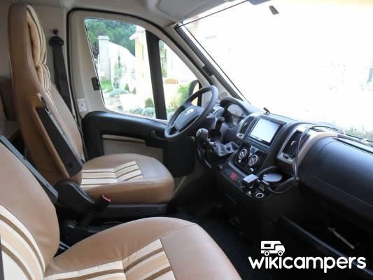 location camping car profil s te 34 fiat burstner ixeo it 734 wikicampers. Black Bedroom Furniture Sets. Home Design Ideas