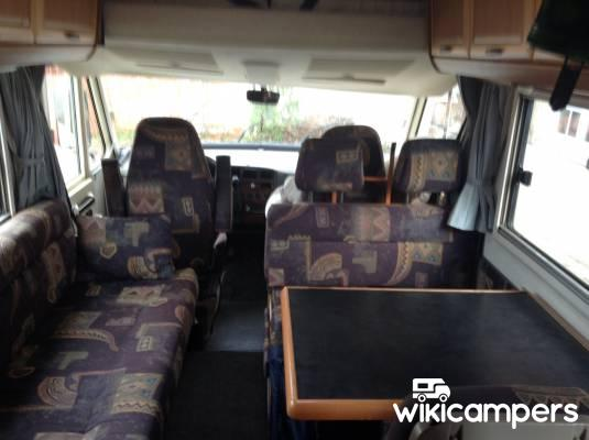 location camping car pessac hymermobil b544. Black Bedroom Furniture Sets. Home Design Ideas