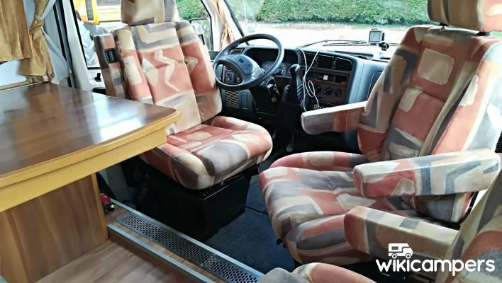 location camping car int gral saint martial de valette 24. Black Bedroom Furniture Sets. Home Design Ideas