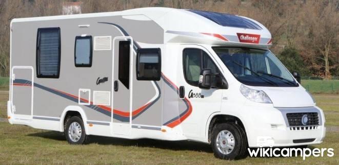 location camping car profil vesoul 70 challenger graphite 290 wikicampers. Black Bedroom Furniture Sets. Home Design Ideas