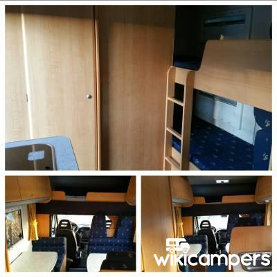 location camping car ch teau thierry challenger fiat ducato 2 8l jtd. Black Bedroom Furniture Sets. Home Design Ideas