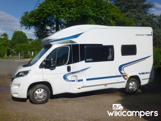 location camping car profil tival clairefontaine 88 fiat chausson 510 flash wikicampers. Black Bedroom Furniture Sets. Home Design Ideas