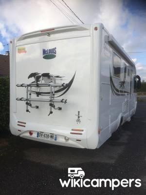 location camping car int gral fresn la m re 14 fiat mc louis yearling 876g wikicampers. Black Bedroom Furniture Sets. Home Design Ideas