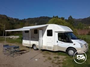 location camping car profil romans sur is re 26 ford rimor vilamobil cautel s wikicampers. Black Bedroom Furniture Sets. Home Design Ideas