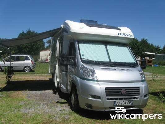 location camping car profil la garnache 85 fiat chausson welcome 79 eb wikicampers. Black Bedroom Furniture Sets. Home Design Ideas