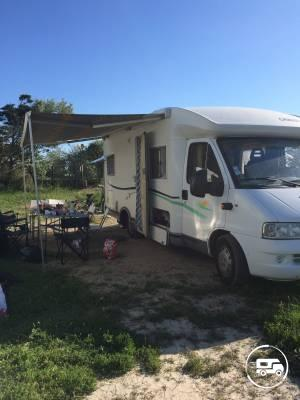 location camping car profil istres 13 fiat chausson welcome 85 wikicampers. Black Bedroom Furniture Sets. Home Design Ideas