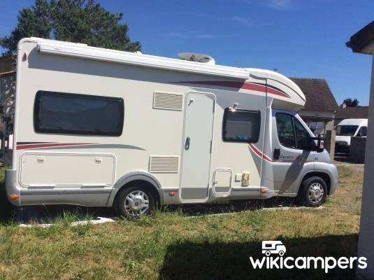 location camping car profil antran 86 fiat challenger genesis 36 wikicampers. Black Bedroom Furniture Sets. Home Design Ideas