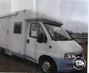location camping car profil saint l 50 fiat burstner t580 wikicampers. Black Bedroom Furniture Sets. Home Design Ideas