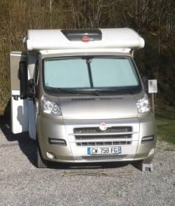 location camping car profil la ravoire 73 fiat burstner gmbh wikicampers. Black Bedroom Furniture Sets. Home Design Ideas